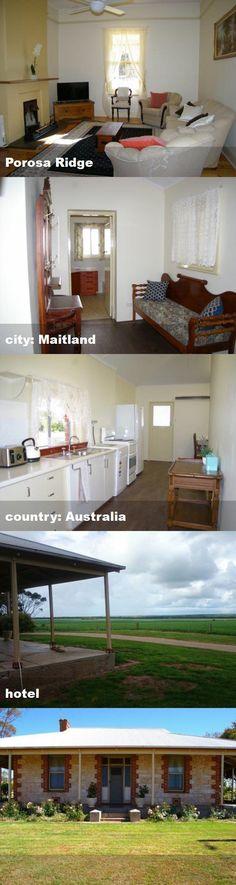 Porosa Ridge, city: Maitland, country: Australia, hotel Australia Hotels, Tour Guide, Country, City, Rural Area, Cities, Country Music, Travel Guide