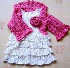crochet little girls dress free pattern | Free Crochet Dress Patterns For Little Girls in Pattern