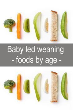 Baby led weaning foods by age Baby led weaning is the . - Baby led weaning foods by age Baby led weaning is the way of introducing solids to babies by offering them age appropriate foods as finger food for them to feed themselves with. Baby Led Weaning First Foods, Baby First Foods, Baby Weaning, Baby Finger Foods, Baby Led Weaning Breakfast, Weaning Toddler, Introduce Solids To Baby, Solids For Baby, Starting Solids Baby
