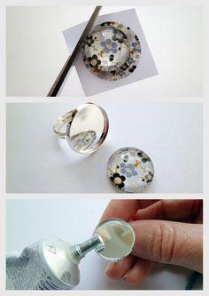Le blog de Lubjana: Tuto pour réaliser des cabochons images pour les bijoux