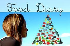 Food Diary - Essenstagebuch - Gesunde Ernährung - Leckere Gerichte - Rez...