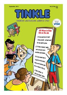 TINKLE  Magazine - Buy, Subscribe, Download and Read TINKLE on your iPad, iPhone, iPod Touch, Android and on the web only through Magzter