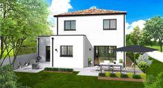 Les maisons CITADINE de 99 m² habitables à toit tuile, résidences d'Habitat Plus
