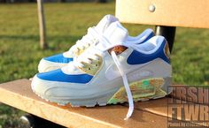 on sale aeb21 747f2 In honor of Blue Slide Park. amleveille53 · my style · Nike - Wmns Air Max  90 ...