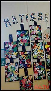 Best 12 Love this bulletin board by Such a fun project! – Page 181481059967077397 – SkillOfKing. Henri Matisse, Matisse Kunst, Matisse Art, Kindergarten Art, Preschool Art, Montessori Art, 2nd Grade Art, School Art Projects, Art Lessons Elementary