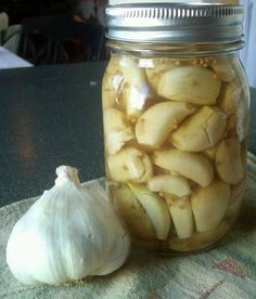 Canning Homemade!: A second look at the Pickling of Garlic