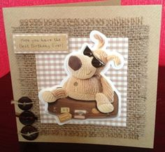 Boofle Birthday Card