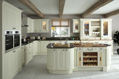 An innova helmsley bespoke painted kitchen httpdiy kitchens all of our silsden alabaster kitchen units doors accessories are available to order today at trade prices from diy kitchens solutioingenieria Gallery