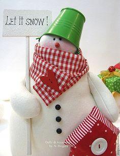 Купить Снеговик - снеговик, снеговики, снеговичок, снеговик тильда, игрушка снеговик, Новый Год