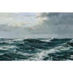 The Sea Alone by Montague Dawson