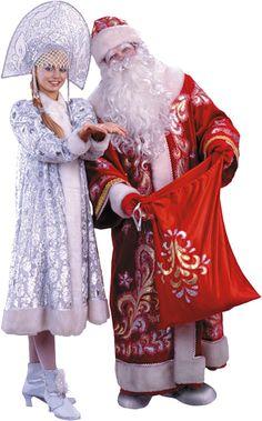 Santa - in Russia. Christmas 2014, Vintage Christmas, Holiday, Xmas, Russian Santa, Ded Moroz, Russian Culture, Seasons Of The Year, Harajuku