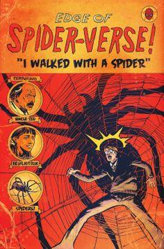 Edge of Spider-Verse #4 by Garry Brown *