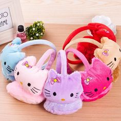 Hot Saling Korean cute KT cat warm super soft earmuffs Free Shipping-in Earmuffs from Apparel & Accessories on Aliexpress.com | Alibaba Group