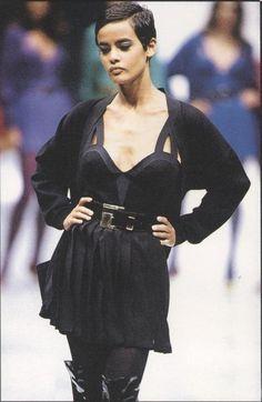 Nadège du Bospertus - Gianni Versace, 1991