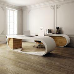 Goggle Desk - Comes in Several Color Schemes. www.italydesign.com/goggle_desk.html#