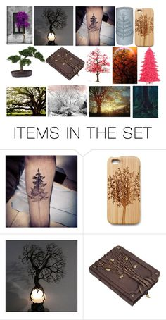 """""""Trees"""" by teenwarrior ❤ liked on Polyvore featuring art"""