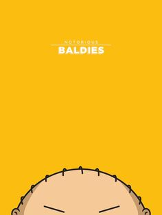London-based Brazilian illustrator, designer, and art director Mr. Peruca has created a fun set of illustrations dubbed Notorious Baldies.
