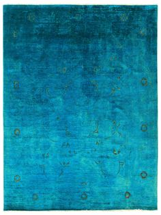 "nuLOOM Vintage Hand-Knotted Overdyed Rug (7'3""x9'6"")"