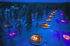 2. The Kakslauttanen Arctic Resort in Saariselkä, Finland. | 8 Stunning Ice Hotels From Around The World