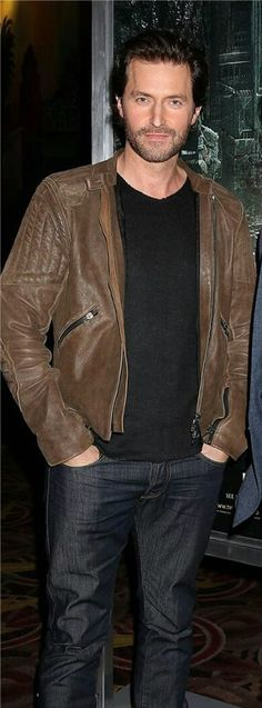 Ooooohh- we will see if there is a transition to brown leather jackets this go round