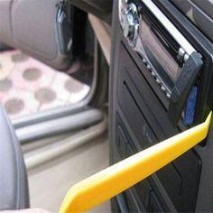 Car-styling 4 Unids Portátil Panel de la Radio de Coche de Puerta Panel de Videoclips Dash Eliminación Del Ajuste Audio Instalador Pry Kit de Reparación herramienta de Envío Gratis
