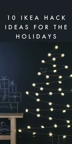 Poppytalk: 10 IKEA Hack Ideas for the Holidays!