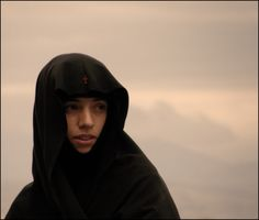 Europe: Young byzantine nun, Greece