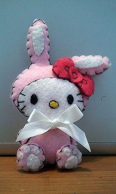 Bunny Hello Kitty Plush Tutorial