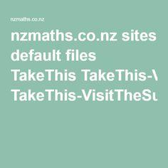 nzmaths.co.nz sites default files TakeThis TakeThis-VisitTheSupermarket.pdf Numeracy, Filing, Maths, Pdf