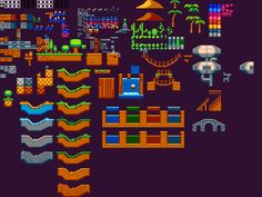 Nice sidescrolling tileset from TigSource
