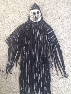 Scream Ghost Face Zombie Costume Halloween by California Costume Child Large   #ghost #halloween