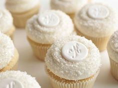 Wedding-cupcakes  {WINTER wedding cupcakes!!}