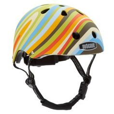 nutcase bike helmet at rei... the red and white polka dotted one.