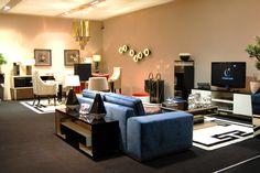 Stylish Club living room #maisonobjet