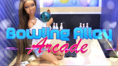 DIY - How to Make: Doll Bowling Alley PLUS Arcade | Handmade Doll Room C...