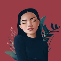 Inspiring Beautiful Illustrated Portraits By Janice Sung – Design You Trust