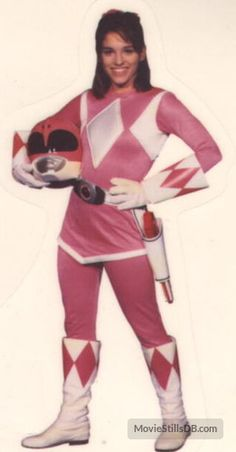 Pink Ranger..she was my faveeeee