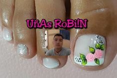 Toe Designs, Toe Nail Art, Pedicure, Lily, Instagram, Bb, Beautiful, Nice Nails, Pretty Nails