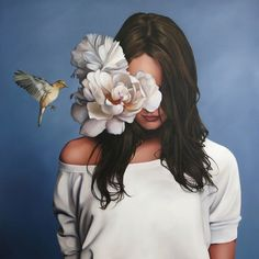 In the lead-up to her solo show with us in May we met with Amy Judd to learn more about her life as an artist and her inspiration for this collection. Illustration Arte, Illustrations, Woman Painting, Figure Painting, Painted Ladies, Anime Art Girl, Surreal Art, Cartoon Art, Painting Inspiration