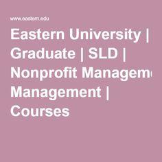 Organizational and Nonprofit Management yale college course catalog