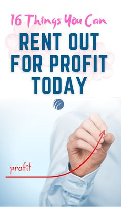 If youre on the lookout for some extra passive income in your life, this list of things you can rent for profit is for you! #makingmoney #onlinemoneymaking #sidehustle #money #extraincome #sideincome #freelancing #earninggigs #passiveincome