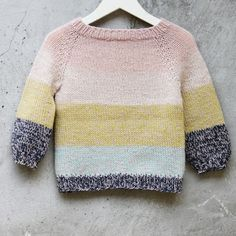 Knitting For Kids, Baby Knitting, Baby Jumper, Small Baby, Knitwear, Baby Kids, Kids Fashion, Men Sweater, Sewing