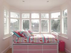 Bedroom shutters the perfect solution for your home. Offering the perfect light and shade solutions for your bedroom. Bedroom shutters make a room! Wooden Window Shutters, Bedroom Shutters, Wooden Windows, Bedroom Windows, Through The Window, Window Treatments, Kids Bedroom, Brighton, Sales Techniques
