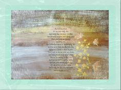 She is everywhere- Art by Sherry D. Flaker, Poem by Elizabeth VanCleve   http://fineartamerica.com/featured/she-is-everywhere-sherry-flaker.html?newartwork=true