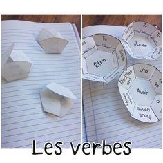 Cahier interactif pour pratiquer la conjugaison des verbes.