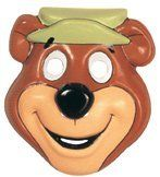 Child's Yogi Bear PVC Costume Mask by Halloween Resource Center. $4.99. Yogi Bear PVC mask. Makes a great costume accessory. One size fits most. Our new costume PVC masks are light-weight and affordable Yogi Bear face costume mask for children. Makes a great costume accessory, one size fits most.