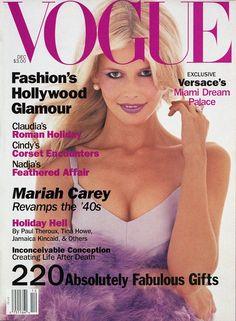 Claudia Schiffer - Vogue, December 1994