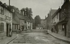 West Wycombe, Buckinghamshire circa early 1900's.  Home of The Apple Orchard Shop.
