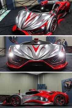 1400 HP Inferno 'Exotic Car' va frapper la production dans le prochain couple de mois