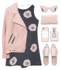 """""""high princess"""" by the-dreamcatcher ❤ liked on Polyvore featuring Isabel Marant, Casetify, Chanel, Karen Walker and Miu Miu"""